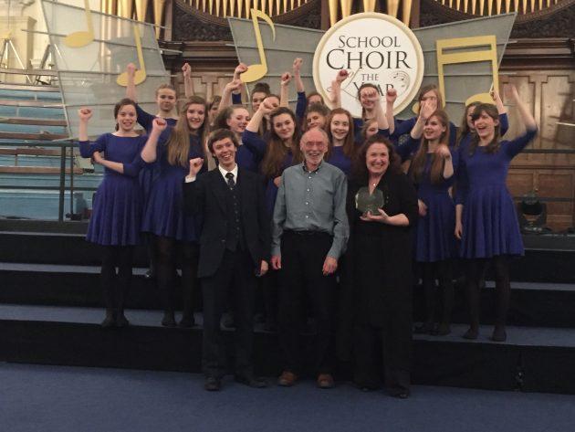 Hereford's winning Cantabile Girls' Choir