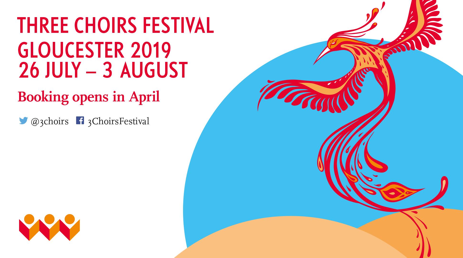 Three Choirs Festival Gloucester 2019 Programme Announced