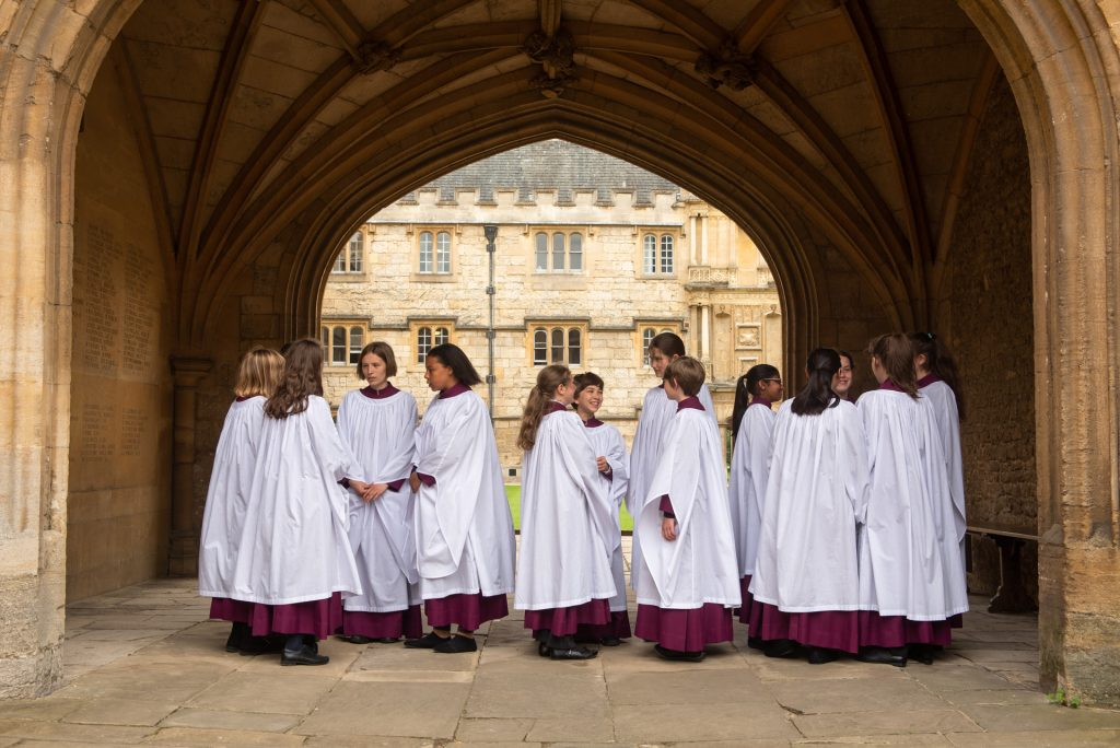 Merton College Girl Choristers join the CSA